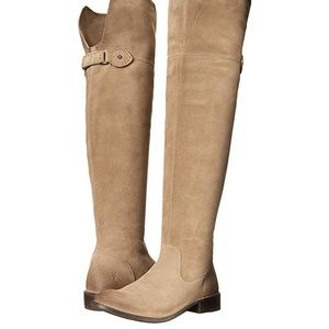 Women's Shirley Over-The-Knee Ash Boot
